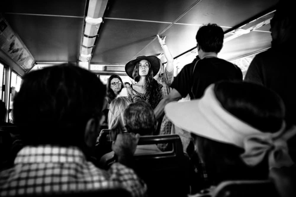 girl on the waterbus