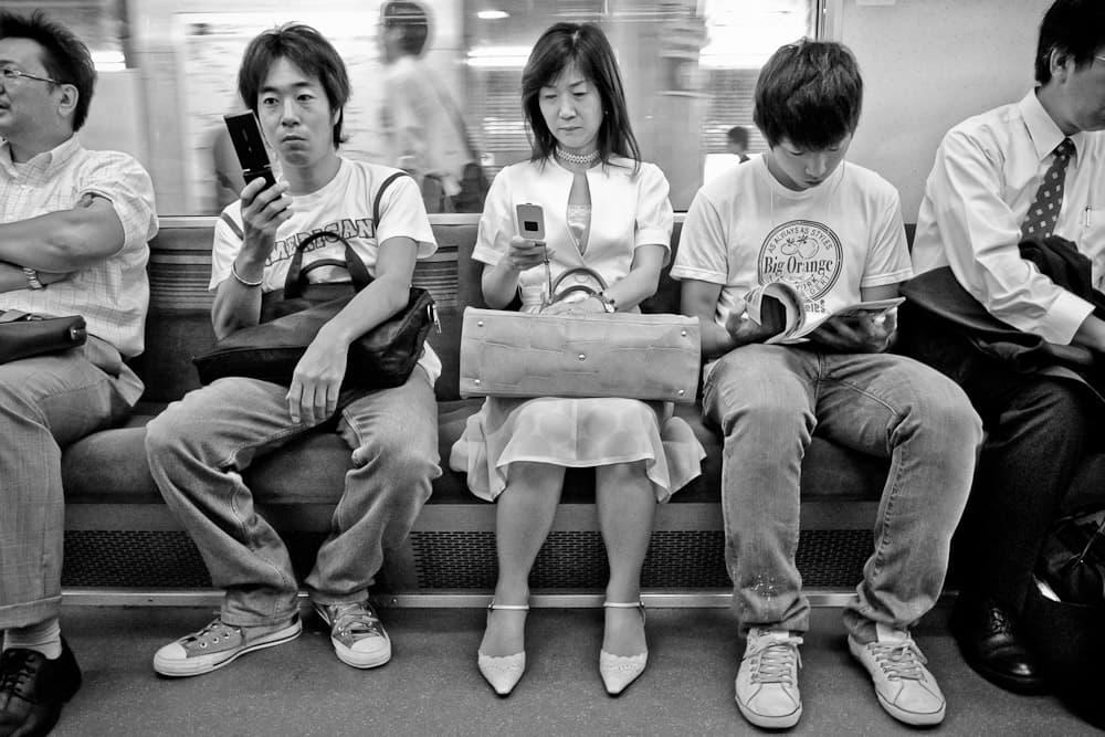 Subway passengers - Tokyo