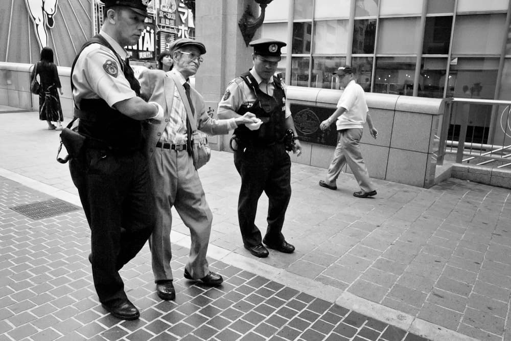 Police - Dontonbori